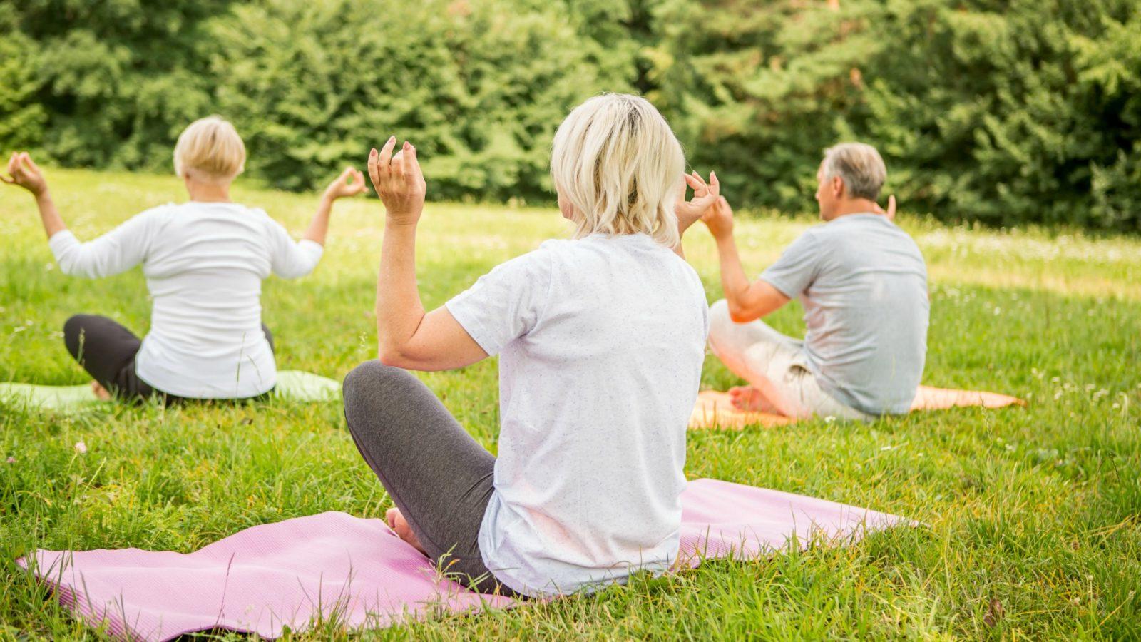 Cvičení pilates pro seniory